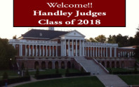 Welcome Judges Class of 2018